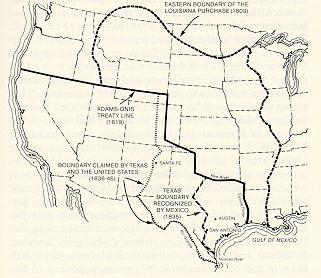Treaty Of Guadalupe Hidalgo - Guadalupe hidalgo on us map