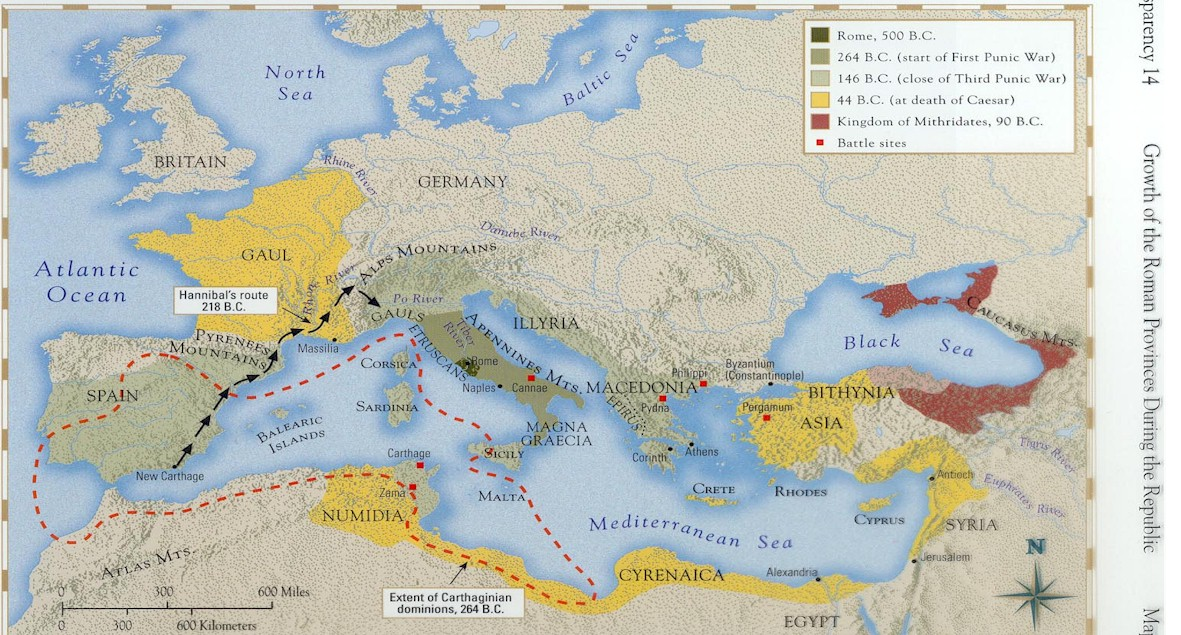 expansion of the roman republic The statesman and general julius caesar (100-44 bc) expanded the roman republic through a series of battles across europe before declaring himself dictator for life.